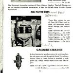 Oil filter kit scanned page