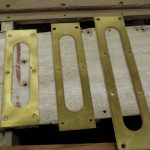 Brass trim to fit boats from 20' to 28' boat