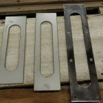 Stainless steel trim to fit boats from 20' to 28'